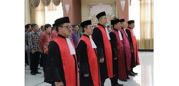 Ketua PN Bojonegoro dan 5 Ketua PN Lainnya Resmi Diganti
