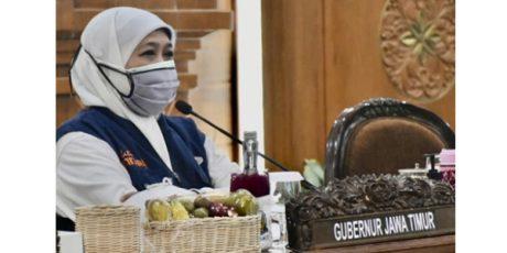 Gubernur Khofifah Kembali Dinyatakan Positif Covid-19