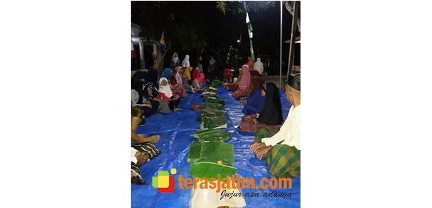 Kirim Doa dan Makan Bersama, Warnai Malam Hari Kemerdekaan RI ke-73