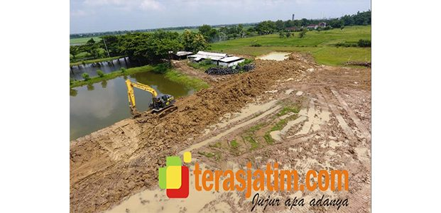 Kodim Lamongan Bangun Lapangan Tembak di Kecamatan Tikung