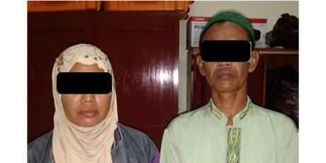 Kompak Ngutil di Sejumlah Minimarket, Pasutri asal Tulungagung Dicokok Polisi Kediri