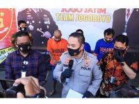 Komplotan Curanmor Sekaligus Pemalsu Dokumen Motor asal Pasuruan Diciduk