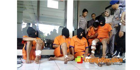 5 Kawanan Perampok Bersenjata Api, Dihadiahi Timah Panas Oleh Anggota Polres Banyuwangi