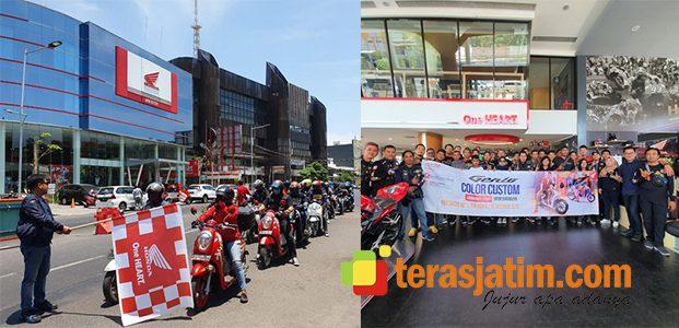 Komunitas Honda Ramaikan Genio Custom Playground