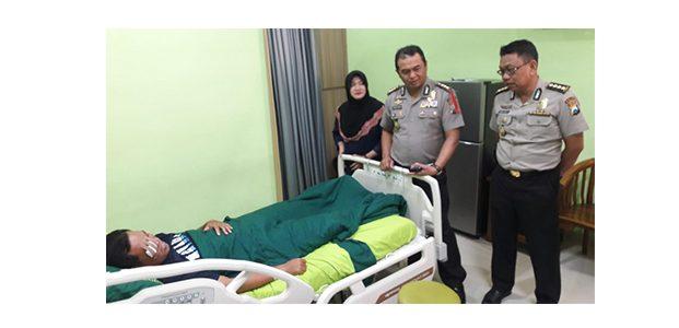 Kondisi Polisi Korban Penyerangan di WBL Lamongan Kian Membaik