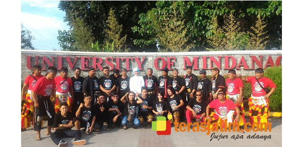 Konferensi Internasional di Universitas Mindanao Filipina Dimeriahkan Reyog Ponorogo