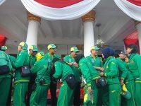 Gubernur Lepas Kontingen Jatim Yang Akan Berlaga di PON XIX