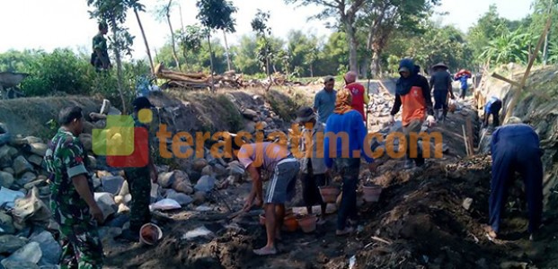 TNI Peduli Irigasi Petani