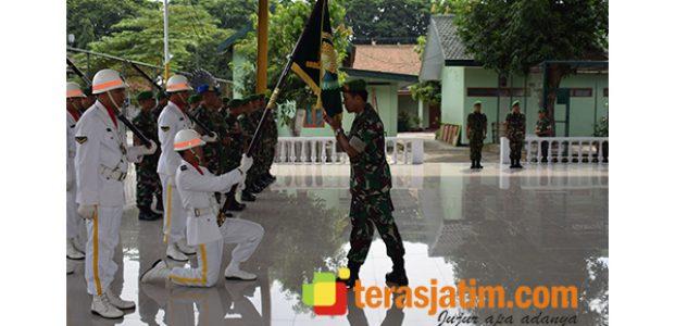 Danrem 081/DSJ Terima Laporan Korp Penempatan Jabatan 3 Perwira Menengah