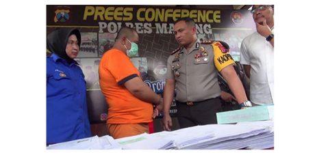 Korupsi Dana Desa Ratusan Juta, Seorang Kades di Malang Dibui