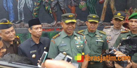 Ke Bondowoso, Pangdam Resmikan Gedung Jenderal Sudirman