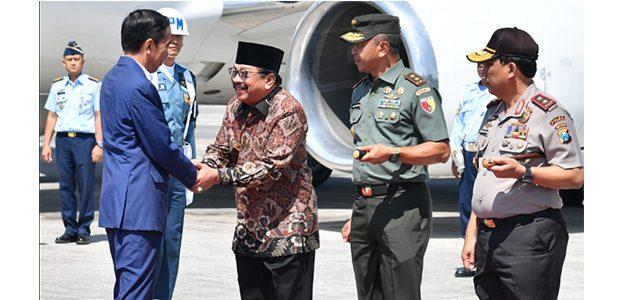 Kunjungi Jatim, Presiden Silaturahmi ke Ponpes Amanatul Ummah Mojokerto