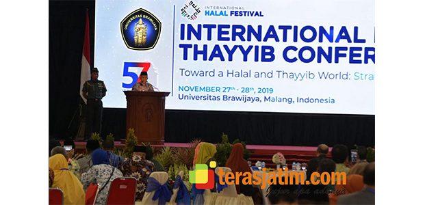 Kunjungi Malang, Wapres Kyai Ma'ruf Amin Hadiri Konferensi Internasional Halal dan Thoyyib 2019