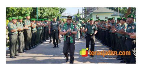 Kunjungi Probolinggo, Danrem Baladhika Jaya Sambangi Lokasi RTLH