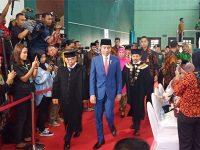 Ke Surabaya, Presiden Hadiri Pengukuhan KH Asep Saifuddin Chalim Sebagai Guru Besar