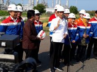 Kunjungi Tuban, Presiden Minta Pembangunan Kilang TPPI Kelar Dalam 3 Tahun