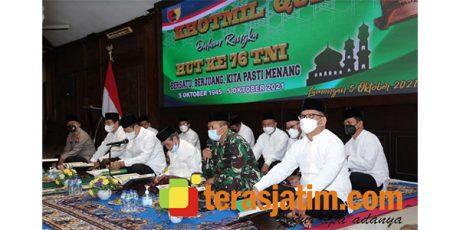 Peringati HUT TNI, Kodim Lamongan Gelar Khotmil Qur'an