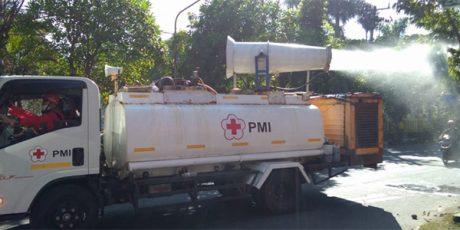 Selama 2 Hari, Kota Lamongan Diguyur Disinfektan