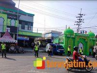 Pos Pengamanan di Babat Lamongan, Pantau Aktifitas Warga di Tengah Lebaran