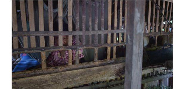Lantaran Ditinggal Suami, Wanita ini Alami Gangguan Jiwa dan Dipasung