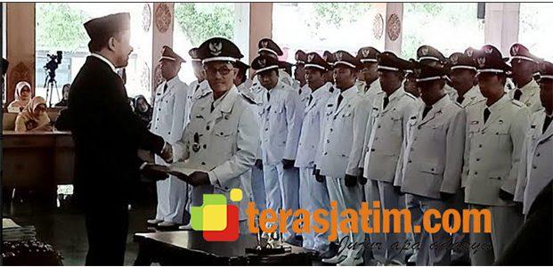 Lantik 117 Kades, Bupati Ponorogo Harapkan Desa Bersinergi dengan Kabupaten