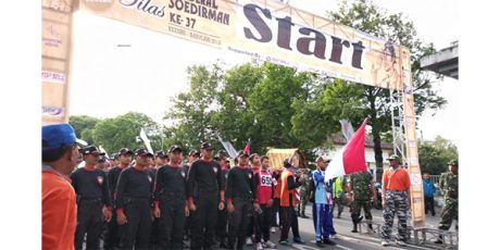 Lebih dari 1000 Peserta Ikuti Napak Tilas Jendral Sudirman
