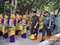 Bupati Tuban Bersama Danrem 082/CPYJ Sidak Lokasi TMMD ke 104