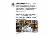Bupati Lumajang Thoriqul Haq Positif Covid-19