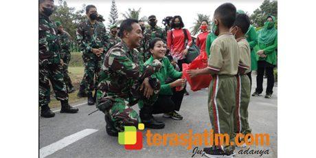 Kasad Jenderal Andika Bertemu 2 Anak Prajurit di Lumajang, Ini Kondisinya