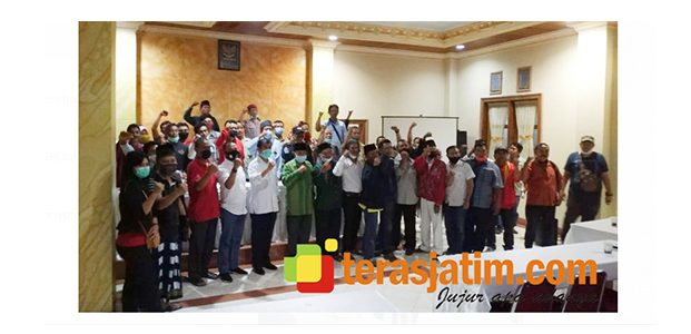 Mbois, Kukuhkan Tim Relawan Pemenangan Kabupaten