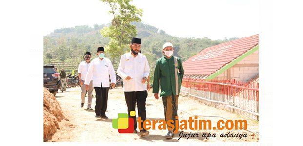 KH Abdulloh Marmuzi Pimpinan PP Al Ishlah Bandar, Dukung Mbois