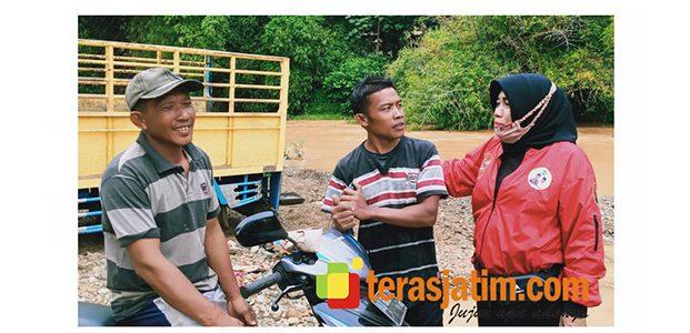 Tampung Aspirasi Penambang Pasir di Arjosari, Istri Cabup Yudi Sumbogo Berbicara Solusi