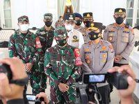 Jelang Kedatangan Panglima TNI dan Kapolri, Pangdam dan Kapolda Jatim Kembali Turun ke Bangkalan