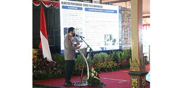 Tekan Covid-19 di Bangkalan, Panglima TNI dan Kapolri Gandeng Tokoh Agama