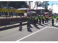 Di Cemoro Sewu Magetan, Pengguna Jalan Tanpa Surat Rapid Test Harus Balik