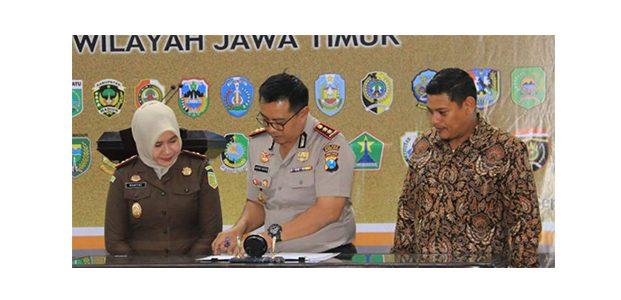 Walikota Kediri Teken MOU dengan APIP dan APH