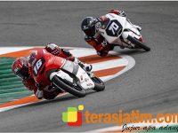 Tampil Apik, Mario Berhasil Finish Lima Besar FIM CEV Moto 3 Valencia