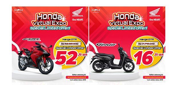 Honda Virtual Expo Special Limited Offer Hadir Kembali, Hanya 3 hari