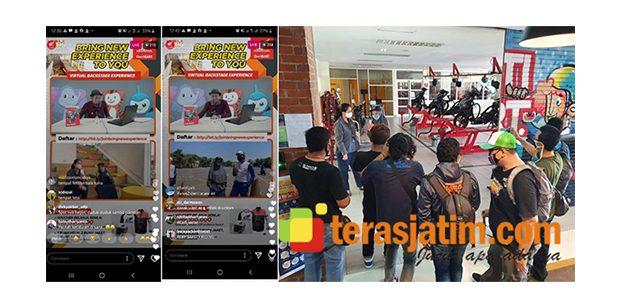 Hari Pelanggan, MPM Honda Jatim Ajak 300 Konsumen Ikuti Virtual Tour De MPM
