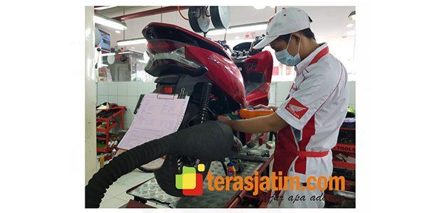 Cek Motor Honda Gratis, Datang Saja ke Bengkel AHASS Honda Jatim dan NTT