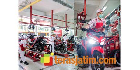 MPM Honda Jatim Berikan Layanan Khusus Bagi Pahlawan Kesehatan