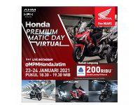 Digelar 2 Hari, Honda Premium Matic Day Virtual Banjir Promo dan Hadiah