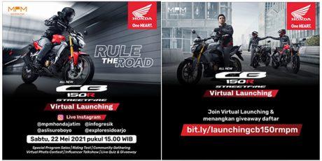 Tampilan Baru dan Kegagahan Motor Sport Terlaris, Honda CB150R StreetFire, Siap Dilaunching di Jatim dan NTT