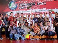 Buktikan Kualitas Layanan AHASS Jatim, Tekhnisi MPM Juarai Kontes Mekanik Nasional