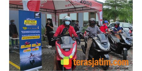 Enak Banget, Test Ride Motor All New Honda PCX Berhadiah Motor