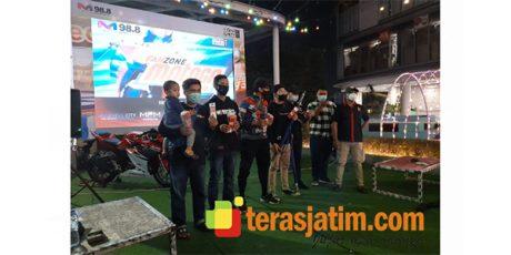 Keseruan Nonton Bareng MotoGP Portugal Bersama Komunitas Honda CBR Series di Surabaya