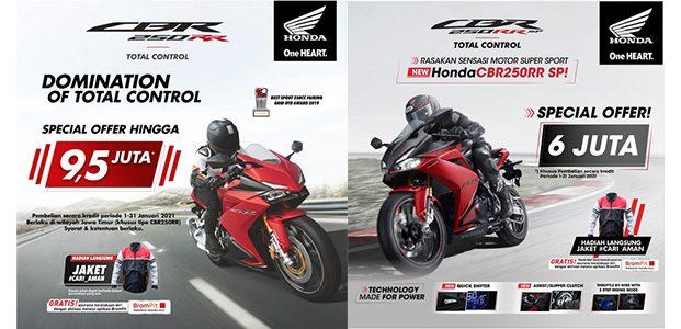 Cashback Hingga Jutaan Rupiah Untuk Pembelian Motor Sport Honda