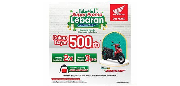 Jelang Lebaran, MPM Honda Jatim Berikan Super Promo Pembelian Honda BeAT