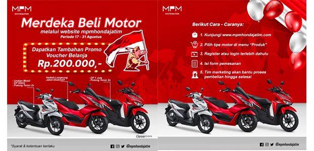 'Merdeka Beli Motor', Beli Motor Honda Gak Pakai Ribet