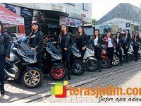 MPM Honda Jatim Gelar PCX City Ride di Banyuwangi